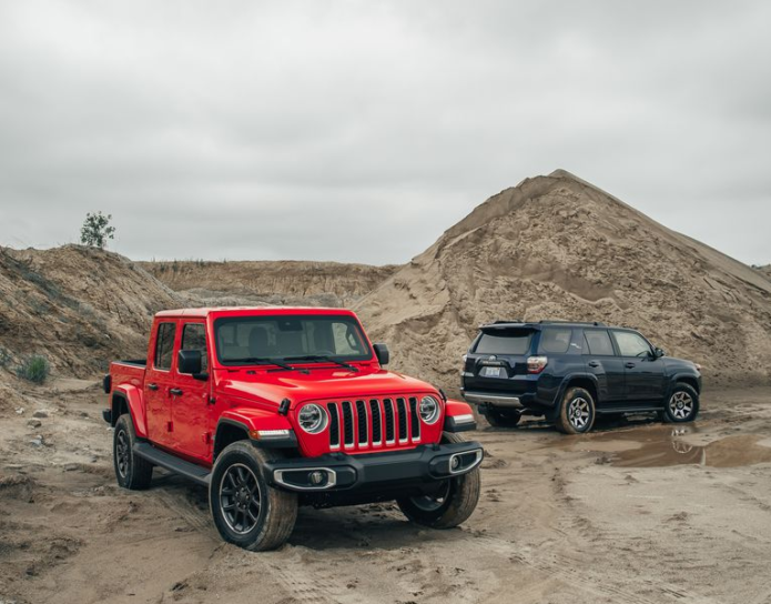 2020 Jeep Gladiator vs. 2019 Toyota 4Runner: Which Is the Better Bug-Out Vehicle?