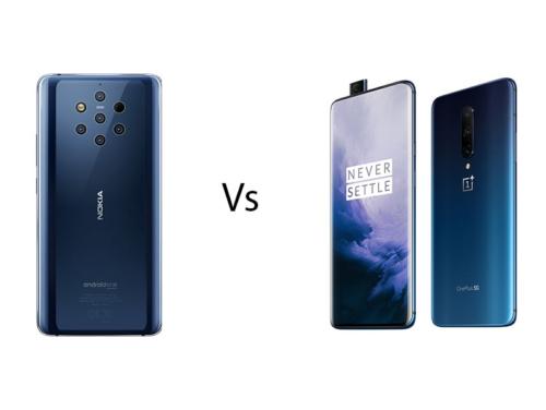 Nokia 9 PureView vs OnePlus 7 Pro: 12GB RAM, triple 48MP cameras!