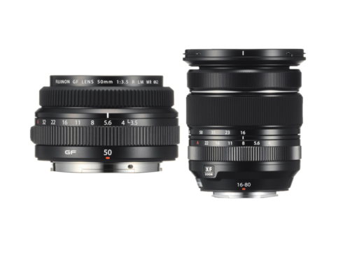 Fujifilm announces compact and lightweight XF 16-80mm f/4 and GF 50mm f/3.5 lenses
