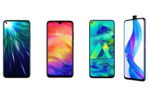 Vivo Z1 Pro vs Redmi Note 7 Pro vs Realme X vs Samsung Galaxy M40: Price, Specifications Compared
