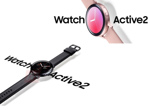 Galaxy Watch Active 2's touch bezel revealed: a step up on the Apple Watch crown?