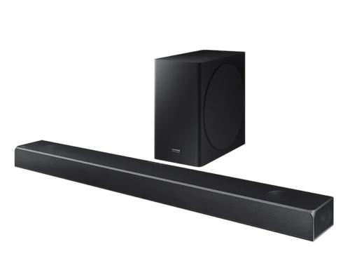 Samsung HW-Q80R Soundbar Review : Front-loaded