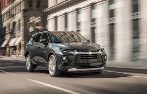 2020 Chevy Blazer Adds a Turbo 2.0L Four-Cylinder