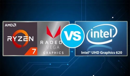 AMD Radeon RX Vega 8 vs Intel UHD Graphics 620 – the Vega 8 is nearly twice faster than its opponent