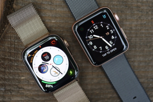Apple Watch Series 4 v Series 3: How the smartwatches compare