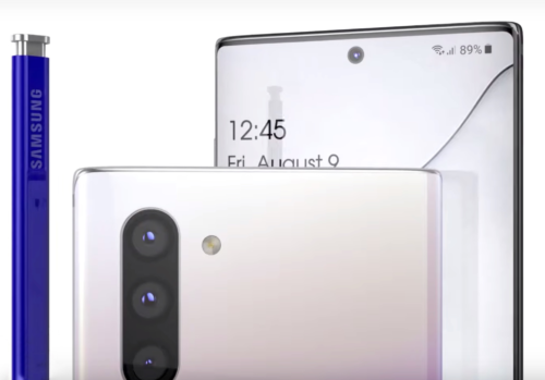 Galaxy Note 10 Video Shows Phone From Every Angle