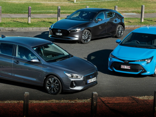 2019 Hyundai i30 Elite v Mazda 3 G20 Evolve v Toyota Corolla SX comparison : Which is best… of the best sellers?