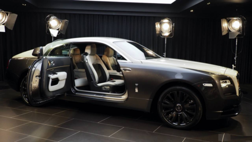 The Rolls-Royce Wraith Eagle VIII takes bespoke to the next level
