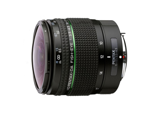 Ricoh updates Pentax 10-17mm F3.5-4.5 fisheye with new coatings and exterior
