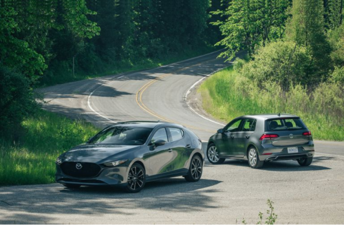 2019 Mazda 3 vs. 2019 VW Golf: Do You Prefer Practicality or Style in Your Compact Hatch?
