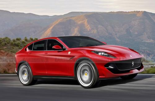 Ferrari's First SUV Should Have More Power Than the Lamborghini Urus