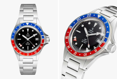 Yema's Newest Watch Is an Affordable Alternative to the Rolex GMT Master II
