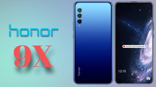 The Honor 9X is coming next month – with Huawei's new Kirin 810 chip
