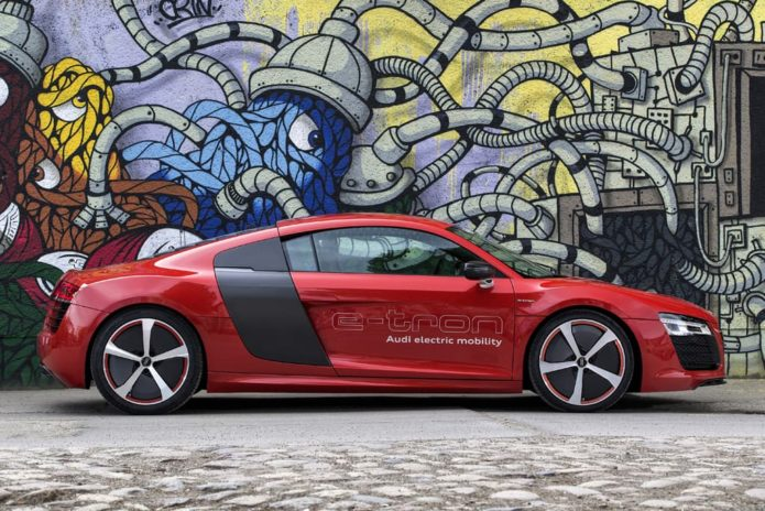 2023 Audi R8 to electrify!