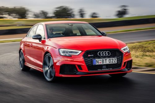 High five! Audi RS 3 and TT RS set to return