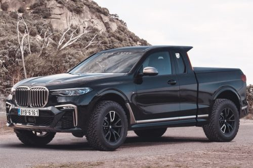 BMW X7 single-cab ute outed