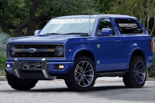 Ford Bronco Raptor likely, V8 possible