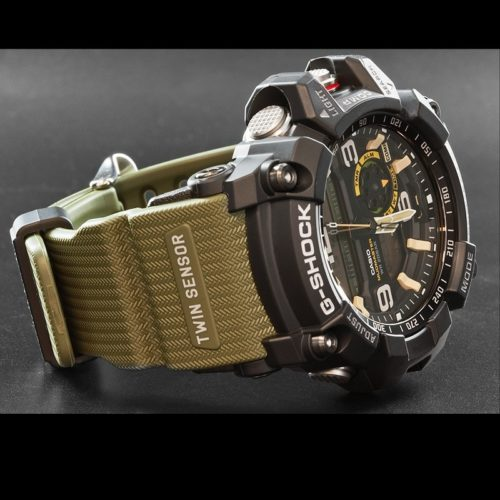 New G-Shock Mudmaster gets added carbon strength, step tracking, and Bluetooth