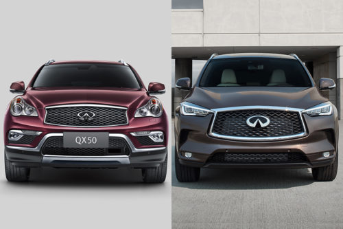 2017 vs. 2019 Infiniti QX50: What's the Difference?