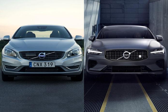 2017 Volvo S60 VS 2019 Volvo S60