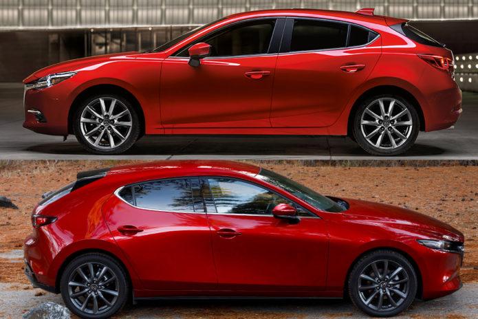 2018 Mazda3 VS 2019 Mazda3