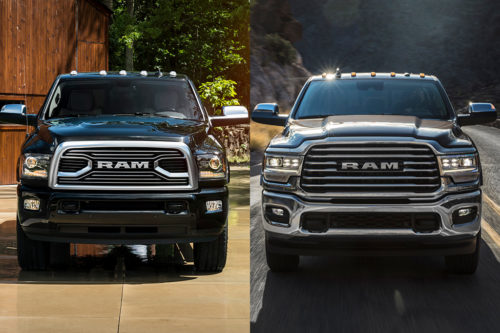 2018 vs. 2019 Ram HD Pickup: What's the Difference?