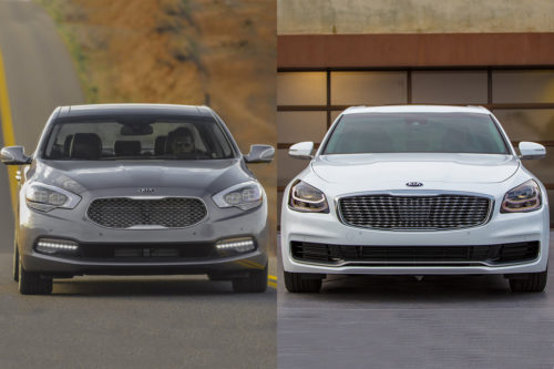 2017 vs. 2019 Kia K900: What's the Difference?