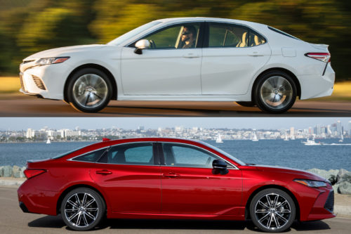2019 Toyota Camry vs. 2019 Toyota Avalon: What's the Difference?