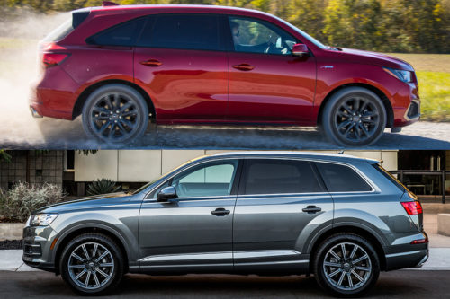 2019 Acura MDX vs. 2019 Audi Q7: Which Is Better?