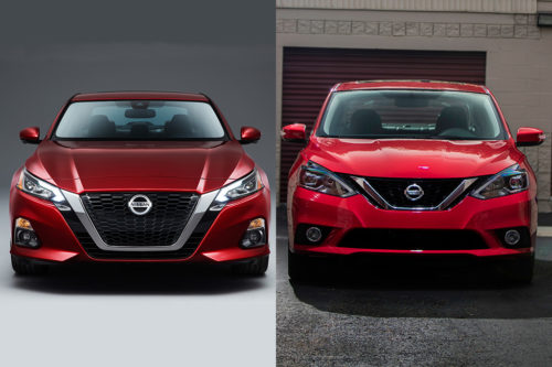 2019 Nissan Altima vs. 2019 Nissan Sentra: What's the Difference?