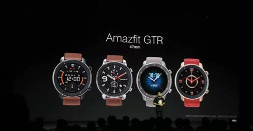 New Amazfit GTR smartwatch can last for over two months on a single charge