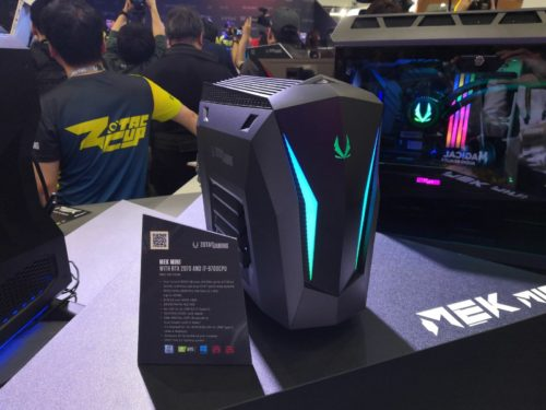 Zotac Mek Mini receives the 9th Intel Core CPU and GeForce RTX Super 3D graphics