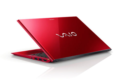 VAIO SX12 red limited edition hands on review: ultralight, multi-interface