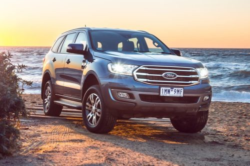 Range-wide AEB for Ford Everest