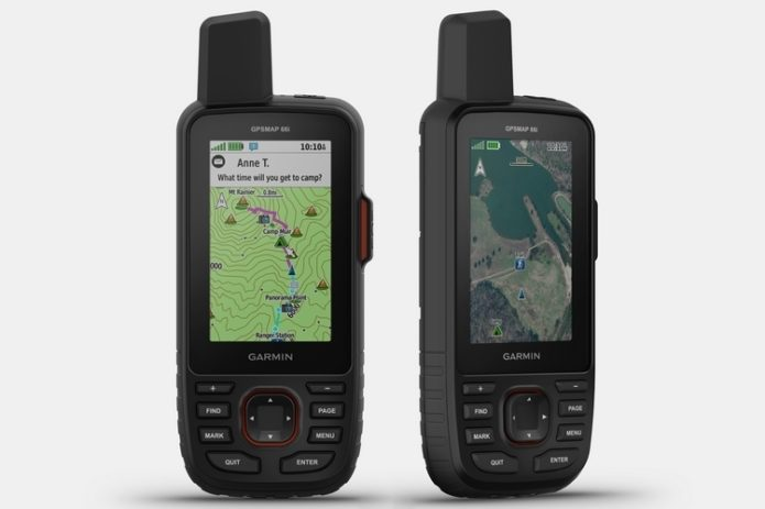 Garmin GPSMap 66i Combines A GPS Navigator And A Satellite Communicator In One