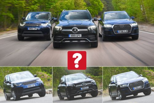 New Mercedes-Benz GLE vs Audi Q7 vs Land Rover Discovery Comparison