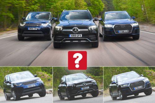 New Mercedes-Benz GLE vs Audi Q7 vs Land Rover Discovery Comparison
