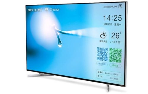 Huawei Honor Smart TV Specification: 55 inch diagonal, 8K and retractable camera
