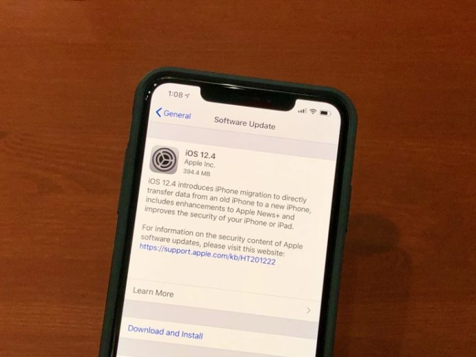 7 Things to Know About the iPhone X iOS 12.4 Update