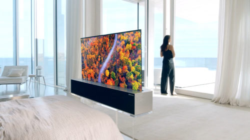LG Rollable TV Coming to U.S. in 2020