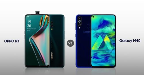 OPPO K3 VS Samsung Galaxy M40 Comparison: Which One Is Better?