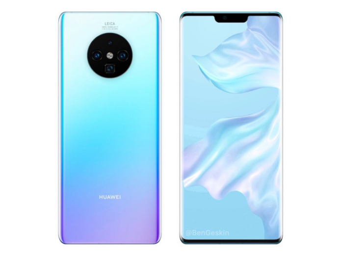Huawei Mate 30 Pro preview - UPDATED: Spy shots show sharp curves and the return of 3D facial scanning