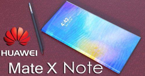 Huawei Mate X Note: 8GB RAM, CRAZY 64MP Cameras!
