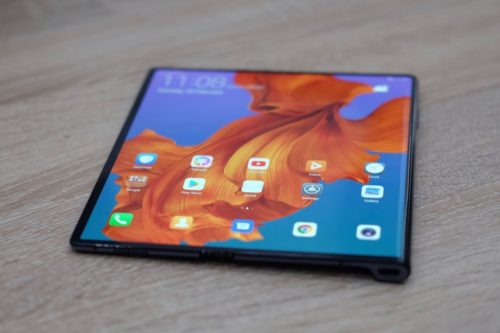 It looks like the Huawei Mate X design has changed, just weeks before its release