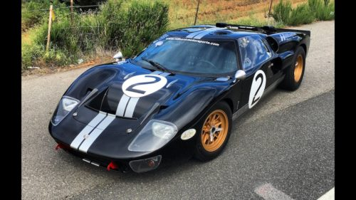 With racing tech aplenty, Ford's GT Mk II is the ultimate track toy