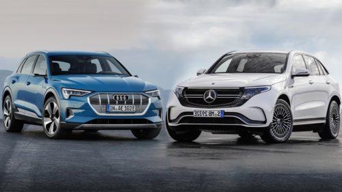 Audi E-Tron Vs Mercedes-Benz EQC Comparison: Current Contenders