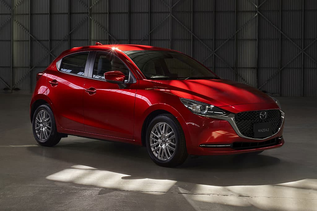 Facelifted 2020 Mazda2 outed
