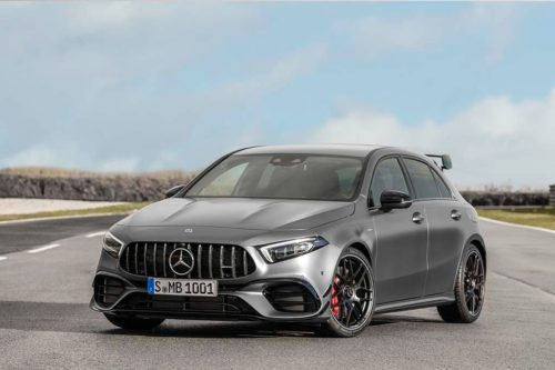 New Mercedes-AMG A 45 and CLA 45 revealed