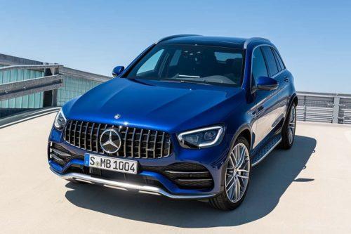 2020 Mercedes-AMG GLC 43 and GLC 43 Coupe revealed
