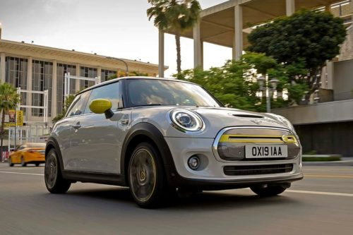 Battery-powered MINI Cooper SE revealed